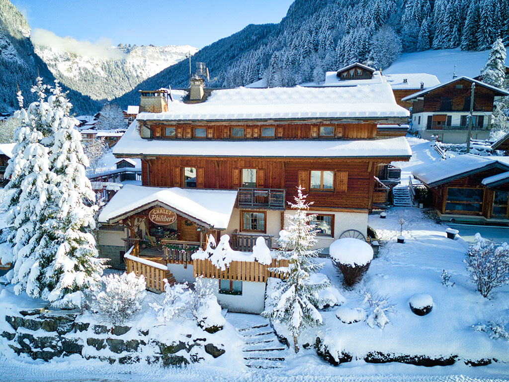 Hotel Philibert-winter-aerial-1